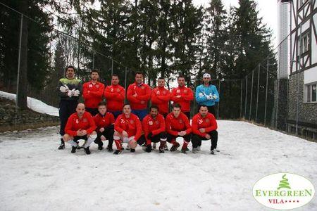 Sport la Predeal: fotbal pe zapada